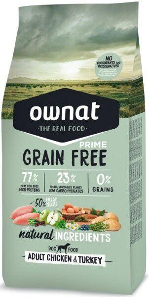 Ownat Grain Free Prime Adult (Dog)