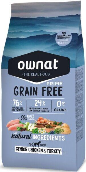 Ownat Grain Free Prime Senior (Dog)