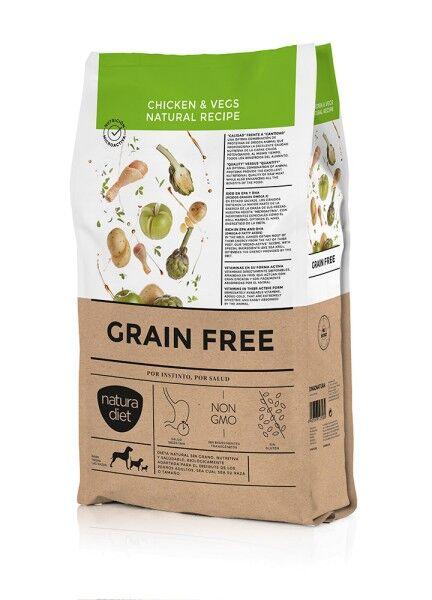 Natura Diet - Grain Free Chicken & Vegs