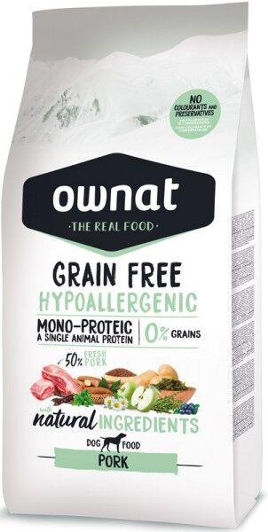 Ownat Grain Free Hypoallergen Schwein (Dog)